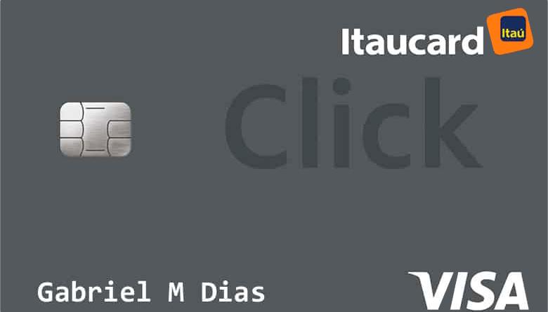 Cartão Itaúcard Click